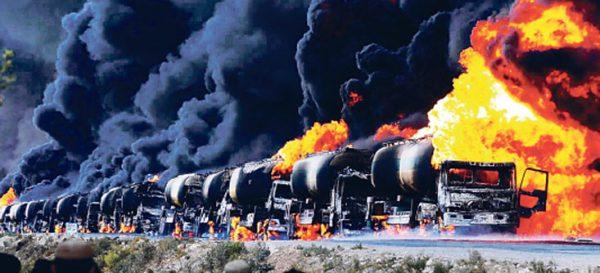 Ноябрь 2015. К операции в Сирии привлечено 25 самолетов дальней авиации, в том числе Ту-160 и Ту-95МС. Состоялись основные удары по нефтевозным караванам, которыми ИГ доставляла нефть в Турцию